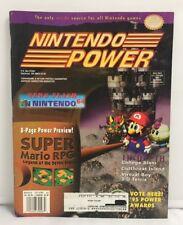 Nintendo Power Magazine March Volume 82 COMPLETE W/poster