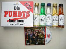 """Die PUHDYS kommen Flaschenbox und Maxi CD Mini 3"""" CD, DDR Kult OVP"""