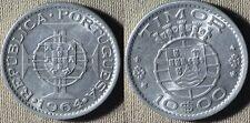 Portuguese Col : St.Thomas&Prince Is 1964 10 Esc BU #16  IR6100