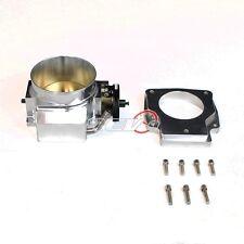 REV9 LS1 LS2 LS6 LSX GM CAMARO GTO 92MM CNC INTAKE THROTTLE BODY+ADAPTER 4 bolt