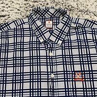 Mens University of Virginia Mens Button Down Shirt Fredrick Martin UVA - Size XL