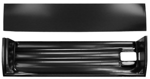 55-59 Chevy Truck RH Passenger Side Inner & Outer Lower Door Skin Patch Panels