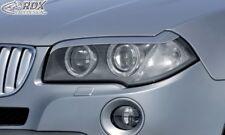 RDX Scheinwerferblenden schwarz matt für BMW X3 E83 2003-2010