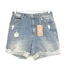 109c42f148 Bershka Denim Collection Size 8 High Waist Distressed Mom Jean Shorts