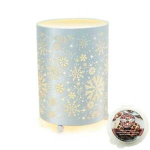 Owlchemy Snowfall Electric wax burner (tart warmer) + light & scrumptious scents