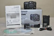 Panasonic LUMIX DMC-GF5 12.1MP - Black (Body Only) Shutter Count 1546_ Excellent