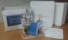 "1979 Norman Rockwell ""The Toymaker"" Figure Mint In Box New Coa from N R Museum"