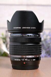 Olympus M. Zuiko ED 12-45mm f/4 PRO Standard Lens with B+W UV Filter