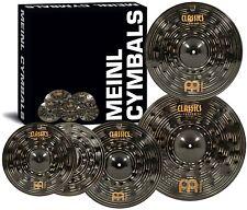 Meinl Cymbals CCD460+18 Classics Custom Dark Pack Bonus Cymbal Box Set