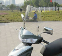 Motorcycle Wind Deflector Scratch Resistant Electric Scooter Windshield  Screen