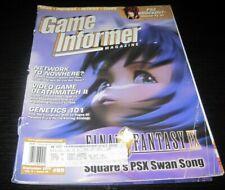 Vintage Game Informer Magazine Nintendo PS Nes Sega video games 2000 issue 89