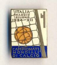 1934 FIFA World Cup SOCCER Official PIN BADGE Football ITALY Calcio RARE Italia