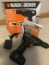 Black And Decker 7.2 V Cordless Drill