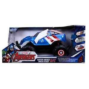 Marvel Captain America Shield Attack 1:14 Scale RC Truck