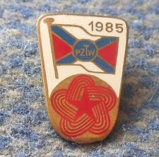 POLAND ROWING FEDERATION INTERNATIONAL REGATTA ROWING POLAND 1985 PIN BADGE