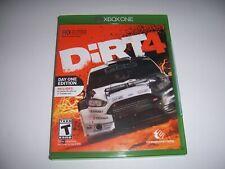 Original Box Case Replacement Microsoft Xbox One XB1 Dirt 4 Four