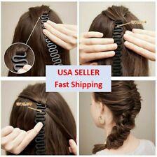 Hair French Braid Clip Roller Magic Styling Stick DIY Bun Maker Tool Easy