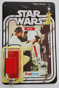 1979 PALITOY R5-D4  20 BACK RESTORE KIT SELF ADHESIVE HOME YOUR TOY R5D4 DROID