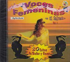 Elena Rivera Baby Swing Voces Femeninas De El Salvador Vol 1 CD Nuevo Sealed