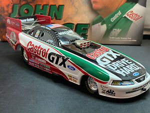 Action John Force Castrol 8 Time Champion 1999 Mustang Funny Car 1/24 Diecast