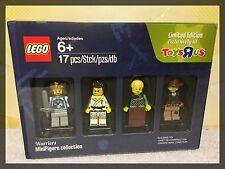 Lego Minifigures Toys R Us TRU Exclusive Limited Edition WARRIORS Bricktober