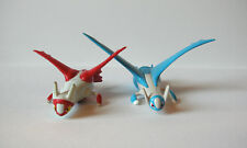 "Pokemon Tomy lot of 2 Latios Latias 2"" action figures toys Japan Takara"