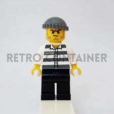 Lego Minifigures - 1x Game 009-Jail Prisoner-Omino Minifig Police Cop town