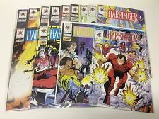 HARBINGER #9-25 (VALIANT/VOL1/MOVIE COMING/0217376) NEAR COMPLETE SET LOT OF 13