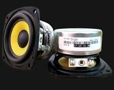 2pcs special  fiber woven pots fever 2.75 inch full-range speaker For DIY