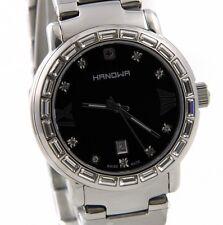 HANOWA Classic Line  Mirage Uhr 16-7027.04.007 Edelstahl silber schwarz >>  NEU