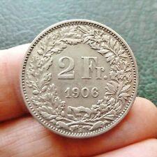 Suisse - 2 Francs - 1906 B  Berne