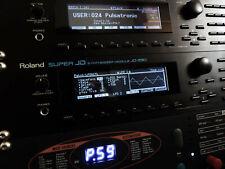 Roland JD-990 Custom (Negative) LED Graphic Display !
