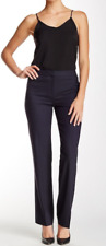 NEW LAFAYETTE 148 NEW YORK classic woold blend pant - navy - size 2 - $298
