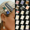 Fashion Set Women's Hair Slide Clips Snap Barrette Hairpin Pins Hair Accessories