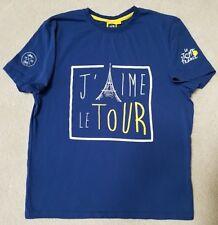 J'AIME LE TOUR LE TOUR DE FRANCE T-Shirt Adults SM blue