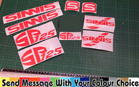 Sinnis SP125  Decals/Stickers ALL COLOURS AVAILABLE SP-125 SP