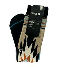 STANCE Tribal Pattern Everyday Light Cushion Crew Socks Men's sz Medium (6-8.5)