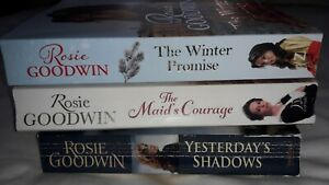 ROSIE GOODWIN BOOKS X 3 - INC THE WINTER  PROMISE