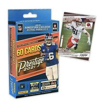 2021 NFL PRESTIGE FOOTBALL HANGER BOX - 60 CARDS - LOOK FOR EXCLUSIVE PARALLELS