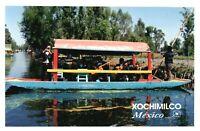 RPPC Photo Image From Irapuato Lake Xochimilco Mexico #15 PC1096