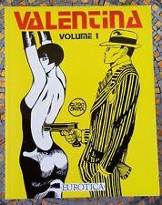 Valentina Volume 1, Guido Crepax, erotic noir comic