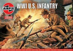 Airfix Vintage Classic 1/72 WWI U.S. Infantry # A00729V