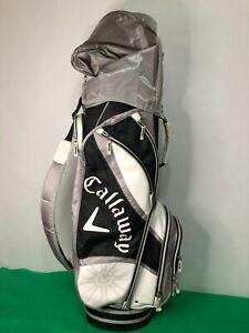 Callaway Solaire Cart Bag 8 Way W/ Rain Hood Golf.