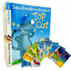 Julia Donaldson's Songbirds Read with Oxford Phonics 36 Books Collection Set