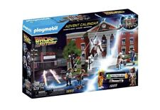Playmobil 70574 Back to the Future Advent Calendar New- Marty Mcfly, Biff & More