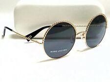 Authentic Marc Jacobs MARC 169/S RHL/IR Gold/Dark Gray Lens 57mm Sunglasses