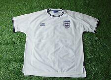 ENGLAND NATIONAL TEAM 1999/2000/2001 FOOTBALL SHIRT JERSEY HOME UMBRO ORIGINAL