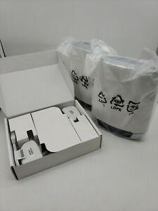 NETGEAR Orbi RBK752 Tri-Band Mesh Wi-Fi 6 System (Set 2) Open Box  NO PACKAGING