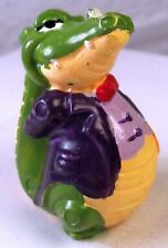 Krokodil Professor Gnädig Ü-Ei Überraschungseier Hartplastik Figur < 1994 😀😀
