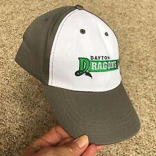 Dayton Dragons Baseball Cap Hat Minor League Dayton Ohio Grey Adjustable OSFM